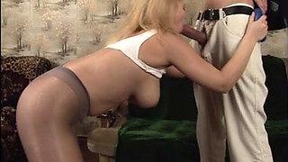 Luba Love sex in pantyhose
