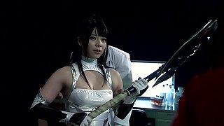 Ai Uehara, Chika Arimura, Ayu Sakurai in Magic Clothing Endure Obedience part 4