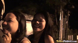 TRIKEPATROL Shy Filipina Blows Lucky Tourist