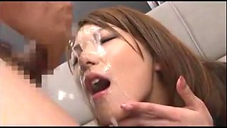 Hot Jav Girl - Bukkake Party