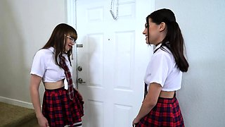 Naughty Best Friends Get Horny When Spanked!