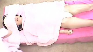 Fabulous Japanese whore Yuki Miyazawa in Hottest Massage, Lesbian JAV clip