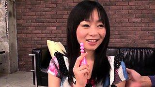 Nozomi Hazuki swallows cock after s - More at 69avs.com