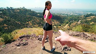 Smoking hot Alina Lopez knows what a naughty guy wants from her