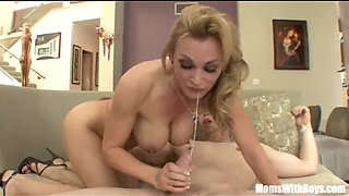 Blonde Sexy Mom Tanya Tate Fucking Her Best Friend s Son - new