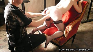 french submissive soumise sandy fisting