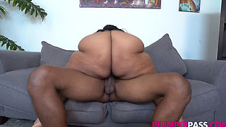 Sexy Busty Ebony BBW (Busty Cotton 46M 52N Boobs Needs Nu Dicc) 1080p