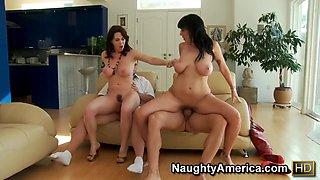 Foursome sex with Alia Janine,  Ralph Long,  Ramon Nomar,  RayVeness