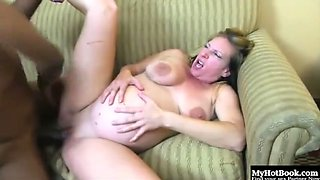 Pregnant milf abuse
