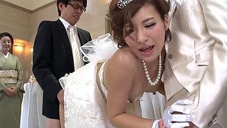 Fuck Bride In Wegdding Ceremony