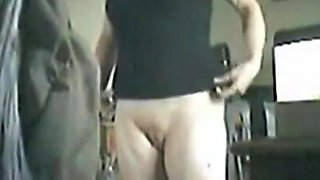 Getting ready to masturbate. Hidden camera