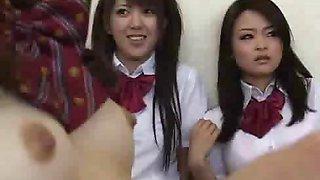 Naked in school Japanese schoolgirls under observation