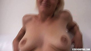 MILF Blowjob and Hardcore on Czech Casting