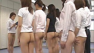 Free jav of Half nude Japanese chicks