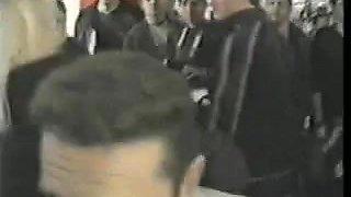 A Real Crowd Pleaser! Public Cum Dump at a Convention.