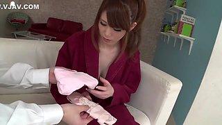 Amazing Japanese slut Maki Koizumi in Hottest JAV uncensored Big Tits clip
