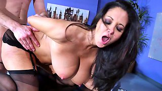 Huge tits slut Ava Addams plays the dirty hardcore doctor