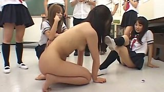 Exotic Japanese chick in Incredible Slave, BDSM JAV clip