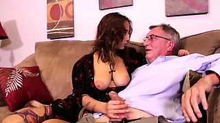 Marilyn Mansion loves older guys and especially loves her