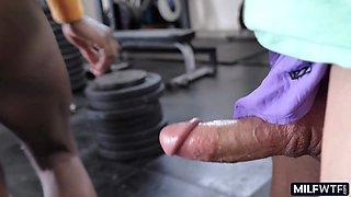 Hot black fitness pussy