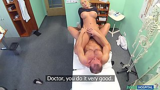 Dirty doctor fucks busty porn star