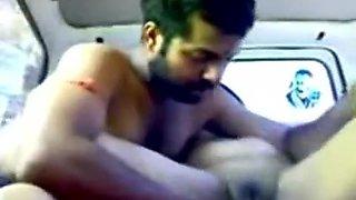 Marathi Bhabhi Moaning & Squirts in Car