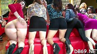 girls sucks dick and gets cum all segment clip 1