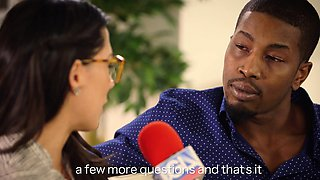 Sexy Spanish Reporter Loves BBC