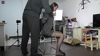 Chinese girl bondage game