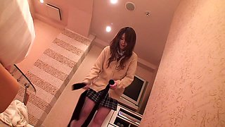 Shiori Hazuki in Hometown Popular School Girl Nakadashi 1 part 3