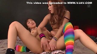 Ai Mizushima, Yuri Sato 2, Sayo Arimoto in Lesbian School Girls Anal Fist Fuck part 4