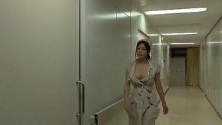 Incredible Japanese chick Yuna Shiina in Amazing Nurse, Big Tits JAV scene