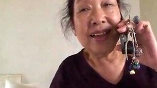 Asian Granny Fucking