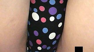 Schoolgirls with mini-skirt uniform panties upskirt