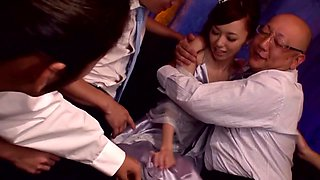 Incredible Japanese chick Aino Kishi in Fabulous JAV censored Swallow, Small Tits movie