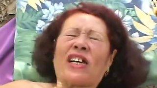 Young Man Fucking Ugly Grandma With Ugly Teeths