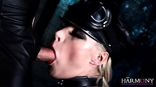 Hot girls in corsets get eaten by and blow a slave