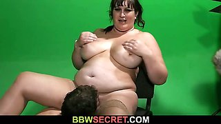 Sexy plumper ruins family fucking hubby