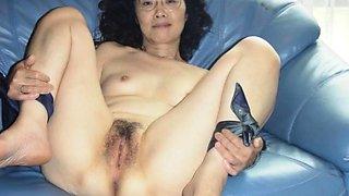 Chie loves sucking cock, 50's matured school teacher