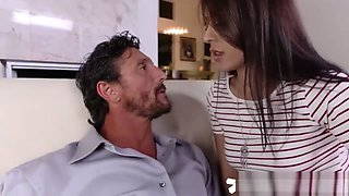 Sexpot Babysitter Audrey Gets Her Snug Wet Cooze Dicked By Boss