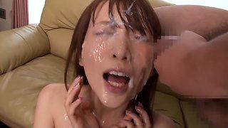 Amazing Japanese chick in Best Bukkake, Cunnilingus JAV clip