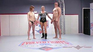 Alexa nova nude wrestling win and strapon fuck of loser