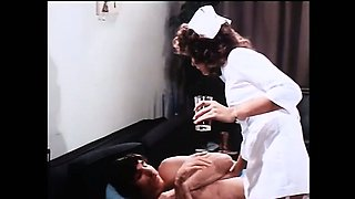 The mother of deepthroat shaving her hairy pussy