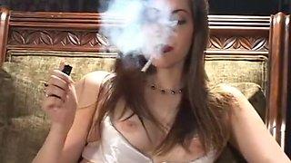 Faith smoking 1