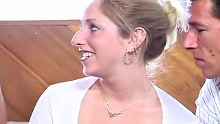 MILF Gets Fucked Harcore By Two Guys