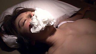 Hottest Japanese slut Yuma Asami in Amazing lingerie, fake tits JAV clip