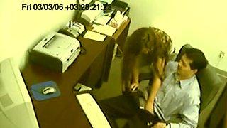 fake voyeur secretary gives tugjob CFNM