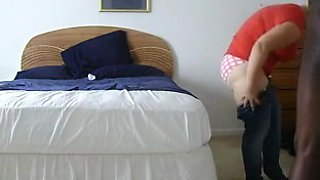 Black man fucks big ass woman