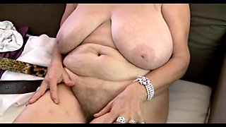 64yr old Bushy Breasty Granny Isabel Shows All Her Stuff